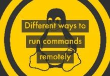 run commands remotely