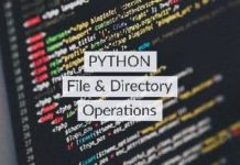 python file and directory