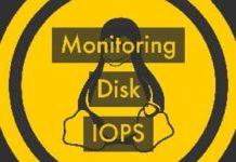 Monitoring disk iops