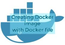 Docker image with docker file