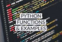 python functions with examples