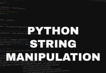 Python sting manipulation