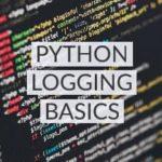 Logging in python: basics