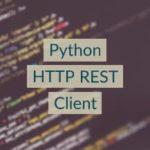 Python Rest Client